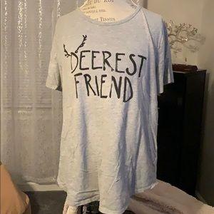 Loft Deerest Friend Short Sleeve Tee